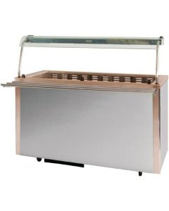 This is an image of a Moffat Versicarte Plus Cold Food Service Counter VCRW4