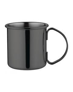 This is an image of a Olympia Gunmetal Barware Mug - 500ml