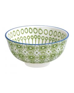 """This is an image of a Olympia Fresca Green Small Bowl - 120x58mm 4 34x2 14"""" 300ml 105oz (Box 6)"""
