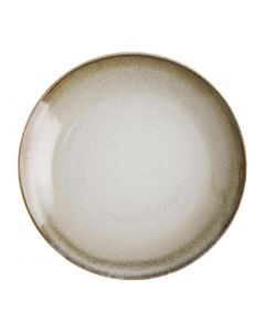 """This is an image of a Olympia Birch Taupe Coupe Plate - 270mm 10 12"""" (Box 6)"""