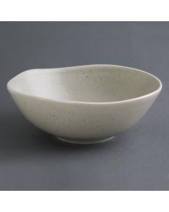 """This is an image of a Olympia Chia Sand Deep Bowl - 210x80mm 825x32"""" 1250ml 44oz (Box 6)"""