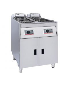 This is an image of a FriFri Basic+ Fryer (Free Standing) 622 2x15 (Direct)