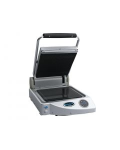 This is an image of a Unox SpidoCook Digital Single Ribbed Contact Grill XP010ER