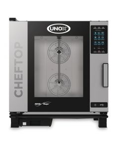 This is an image of a Unox Cheftop MIND Maps Plus Combi Oven 7xGN 11 with Commissioning