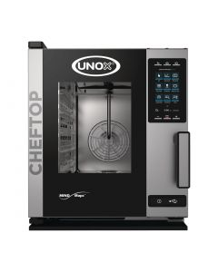 This is an image of a Unox Cheftop MIND Maps Plus Combi Oven 5xGN 11 with Commissioning