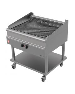 This is an image of a Falcon Dominator Plus Electric Chargrill on Mobile Stand E3925