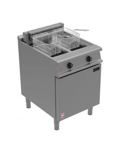This is an image of a Falcon Dominator Plus Twin Pan Electric Fryer E3865