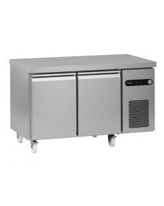 This is an image of a Hoshizaki Snowflake GenII 2 Door 300Ltr Counter Fridge SCR-130BH