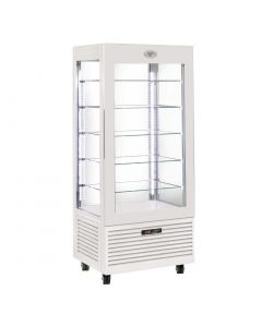 This is an image of a Roller Grill Display Fridge with Fixed Shelve
