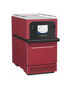 This is an image of a Merrychef E2S HP 2kW Rapid Cook Oven Three Phase Red