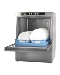 This is an image of a Hobart Ecomax Plus Dishwasher F503 with Install
