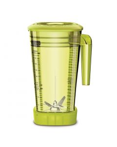This is an image of a Waring Stacking MX Jar Yellow - 2Ltr with Lid for CB135