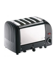 This is an image of a Dualit Classic Vario 4 Slot Toaster - Black