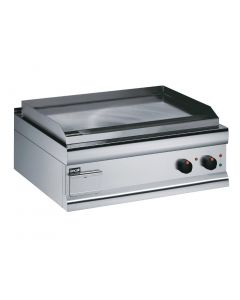 This is an image of a Lincat Silverlink 600 Chrome Dual zone Electric Griddle GS7C