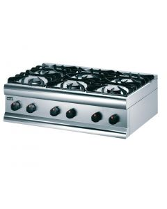 This is an image of a Lincat Silverlink 600 Natural Gas Boiling Top HT9N