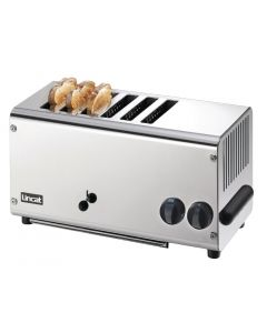 This is an image of a Lincat 6 Slice Toaster LT6X