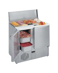 This is an image of a Lincat Pizza and Sandwich Preparation Station PS950