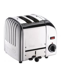 This is an image of a Dualit 2 Slice Vario Toaster Stainless Steel 20245