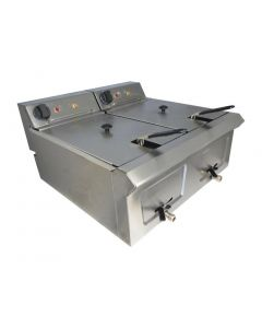 This is an image of a Falcon Pro-Lite Countertop Fryer 2x7Ltr LD56