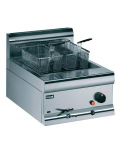 This is an image of a Lincat Single Counter Top Fryer - Nat Gas 2 Baskets 85Ltr 113kW (Direct)