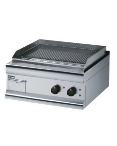 This is an image of a Lincat Electric Griddle Fully Ribbed 415Hx600Wx600D 4kW (Direct)