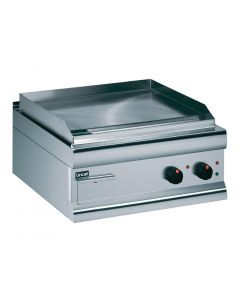 This is an image of a Lincat Silverlink 600 Chrome Dual zone Electric Griddle GS6CT