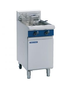 This is an image of a Blue Seal Evolution Twin Tank Fryer Electric - 450mm (Direct)