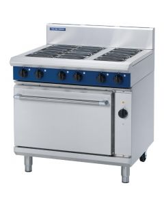This is an image of a Blue Seal Electric Oven Range with Convection Oven E56D