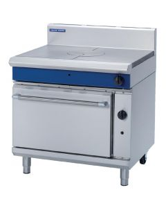 This is an image of a Blue Seal Evolution Target Top Static Oven Nat Gas - 900mm (Direct)