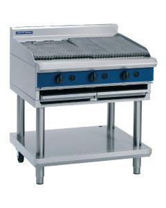 This is an image of a Blue Seal LPG Gas Chargrill C596-LPG