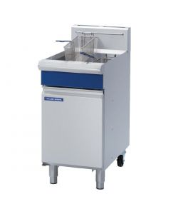 This is an image of a Blue Seal Free Standing Natural Gas Single Fryer GT45-NAT