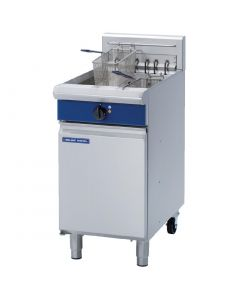 This is an image of a Blue Seal Free Standing Single Electric Fryer E43