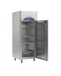 This is an image of a Williams Single Door Upright Fridge Stainless Steel 611Ltr HG1T-SA