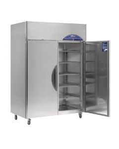 This is an image of a Williams Double Door Upright Fridge Stainless Steel 1288Ltr HG2T-SA