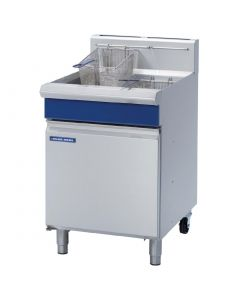 This is an image of a Blue Seal Single Natural Gas Pan Fryer GT60-NAT