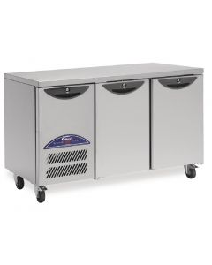This is an image of a Williams Opal 2 Door 374Ltr Counter Freezer LO2U-S3