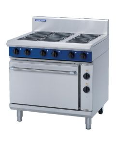 This is an image of a Blue Seal Evolution 6 Burner Static Oven Electric - 900mm (Direct)