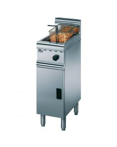 This is an image of a Lincat Sliverlink 600 Free Standing Single Natural Gas Fryer J5N