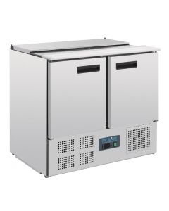 This is an image of a Polar Refrigerated Saladette Counter 240Ltr