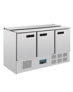 This is an image of a Polar Refrigerated Saladette Counter 368Ltr