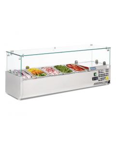This is an image of a Polar Refrigerated Countertop Servery Prep Unit 5x 14GN