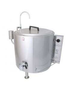 This is an image of a Falcon Dominator Round-Cased Boiling Pan E2078-135