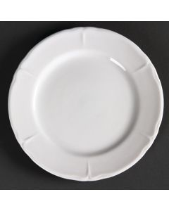 """This is an image of a Olympia Rosa Round Plate - 165mm 65"""" (Box 12)"""