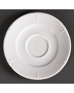 This is an image of a Olympia Rosa Saucer - 160mm for GC710 Cup (Box 12)