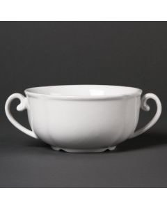 This is an image of a Olympia Rosa Soup Bowl - 285ml 10oz (Box 12)