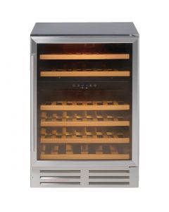 This is an image of a Lec Dualzone Wine Cooler 46 Bottles