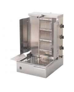 This is an image of a Roller Grill LPG Gas Gyros or Kebab Grill GR 60G