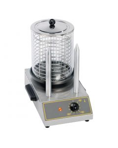 This is an image of a Roller Grill Hot Dog Warmer with Spikes CS 2E