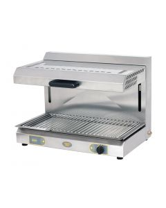 This is an image of a Roller Grill Rise and Fall Salamander LPG Gas Grill SGM 800