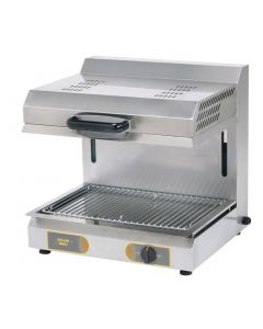 This is an image of a Roller Grill Rise and Fall Vitro Ceramic Salamander Electric Grill SEM 600VC